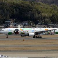 エバー航空 バッドばつ丸塗装機 FUK
