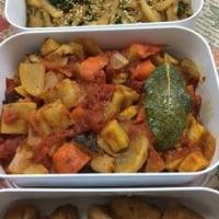 今日の献立 冬の根菜ラタトゥイユ 常備菜(⋈◍>◡<◍)。✧♡