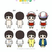 ジェジュンファンサイト バースデー記念「Bebe-Jぬいぐるみ」3000円