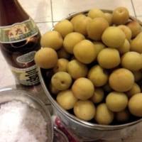 【百姓道】 マイ梅干を漬けてみよう2010 1 材料・レシピと塩漬け