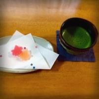 紅葉の琥珀糖♪