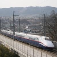 485系R編成 北陸新幹線E2系 最終記録撮影。