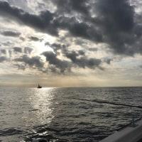 初釣りへ出航