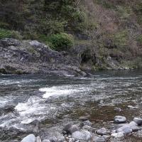 渓流のルアーフィッシング。