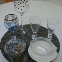 ガラス食器フェア開催中