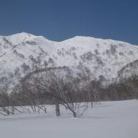 小白山(南峰本ピーク1602.9m)から俵谷へGO!