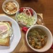 7.23 チーズ目玉トースト