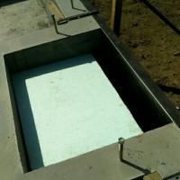 河川敷手前基礎工事~農業用水路掃除