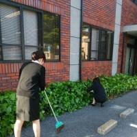 春の清掃活動