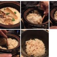 ノドグロ飯。とても美味しいです。