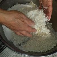 手作り味噌の仕込み