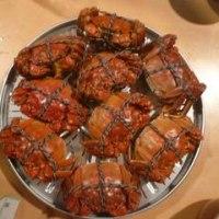 日本で本場「上海蟹」