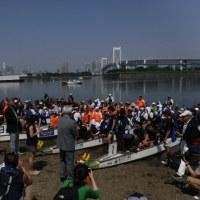 お台場海浜公園/ ドラゴンボート