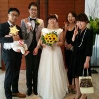さっちゃんとオッパ結婚式