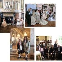 ヴェルサイユ宮殿での授与式とブルトゥィユ城訪問
