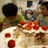 父の日のディナーは手巻き&手作りケーキ
