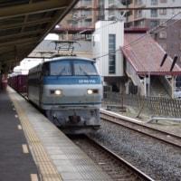 EF66-118号機@吹上駅