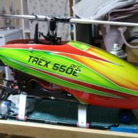 T-REX580スキッド変更