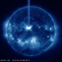 ■大規模太陽フレア