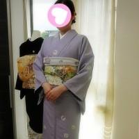お宮参りにお着物でお出かけのお客様です(^▽^)/