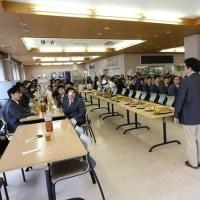 豊川高校剣道部新入生歓迎会ならびに選手激励会(H29.4.15)