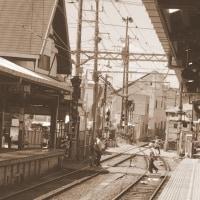 江の島駅のスプリングポイント -江の島2017-