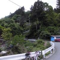 八倉峠までヒルクライム