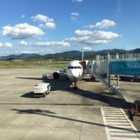 修学旅行3日目 高松空港からバスに乗りました