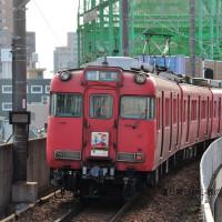 名鉄 大曽根(2014.1.4)迎春系統板6031F
