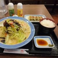 川崎・リンガーハット で 野菜たっぷりチャンポン