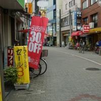 阪急岡町と豊中市役所を結ぶ商店街も