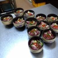 メジマグロの海鮮丼