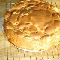 またまたリンゴケーキ焼きました