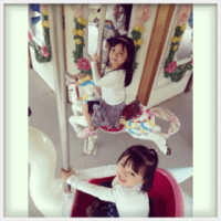 happy princesses.