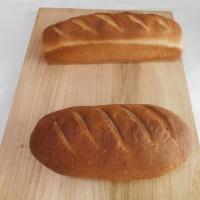 大豆粉とふすまのパン
