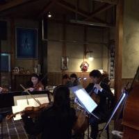 SCRATCH クリスマスディナーコンサート24th 高橋律也と仲間たちによる弦楽五重奏