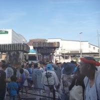 夏祭り 提灯神輿と三社祭