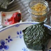 ちりめん山椒・牛肉の味噌漬け・かぶ菜の炒り煮・・・楽屋裏