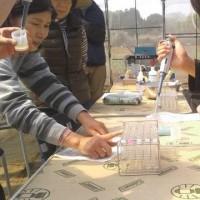 農業実践教室第22期:オプション講座で皆さんの家庭菜園の土壌分析をいたしました