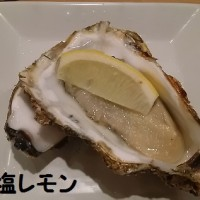 牡蠣とワインの立ち飲み(^^♪