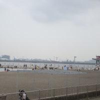 日曜日、つばさ浜へ行きました
