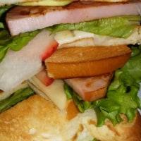 サンドイッチ定食