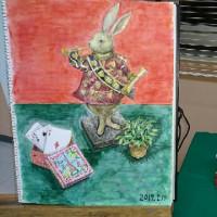 絵画教室 第2年度  15回目