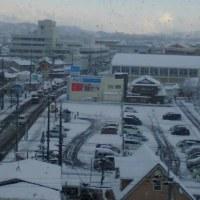 【天気】雪が多かったです😅