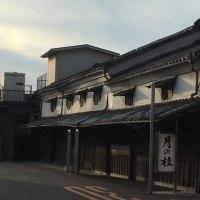 増田徳兵衛商店(月の桂)でテレビ撮影