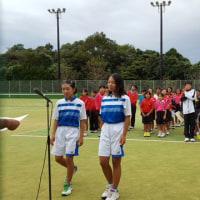 テニスの試合!!