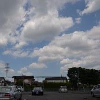 5月28日、午前11時過ぎの空模様