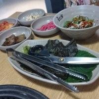 釜山1日目 ~夕食 サムギョプサル!~