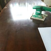 テーブル塗り替え前