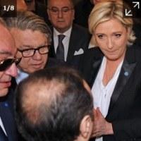 フランス大統領選挙 ジワジワと差をつめる極右ルペン候補 左派統一候補という新たな波乱要因も